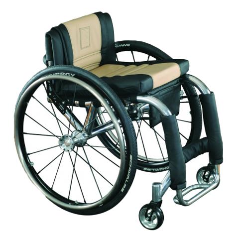 Hammer - Fauteuil roulant manuel confort à châssis plian...
