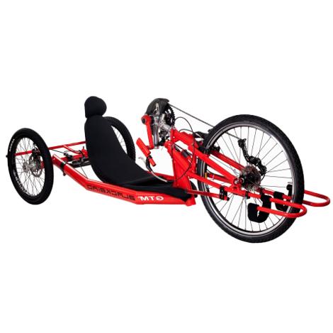 Blackbird - Tricycle à deux roues arrière propulse par l...