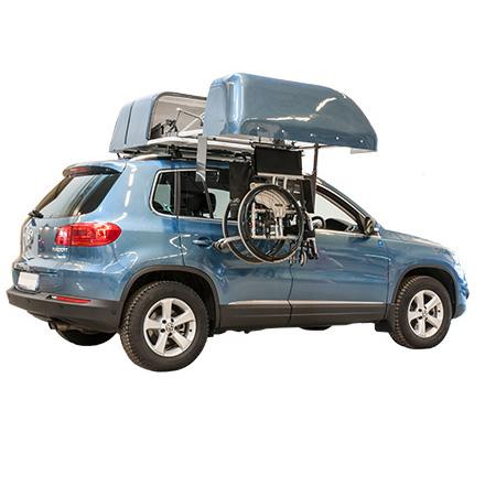 Chair Topper - Coffre de toit de fauteuil roulant pour v...