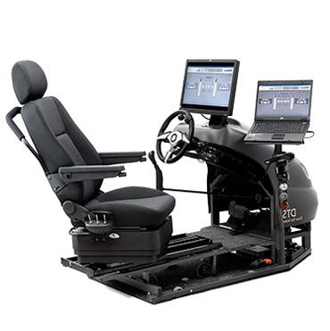 Driver test station - Véhicule neuf aménagé pour la cond...