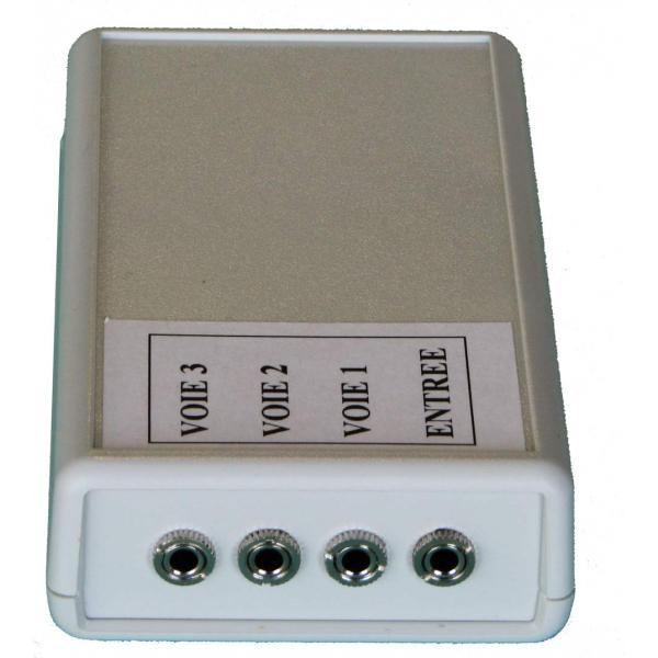 Interface triple accès - Connecteur pour contacteur...