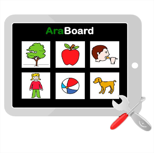 Araboard - Logiciel de communication par pictogrammes...