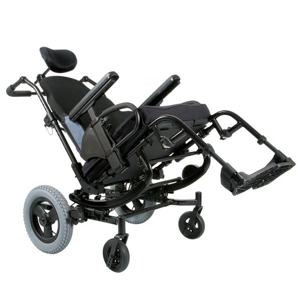 Quickie SR45 - Fauteuil roulant manuel standard à châssi...