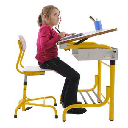 Table Herlift - Table de travail avec plateau inclinable...