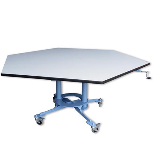 Table Donely - Table de travail à hauteur réglable...