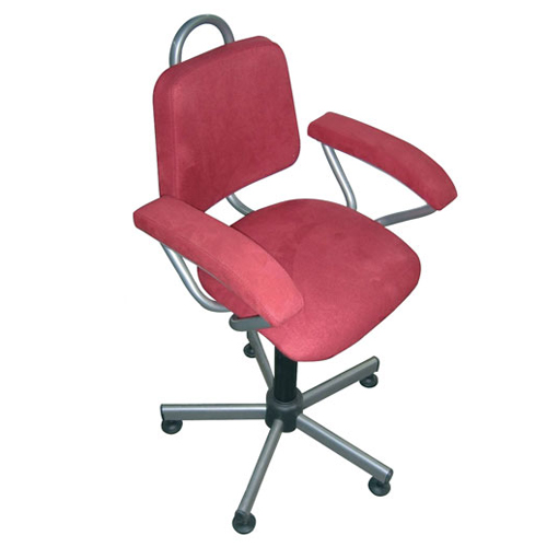Nera - Chaise de bureau à hauteur variable par vérin à g...