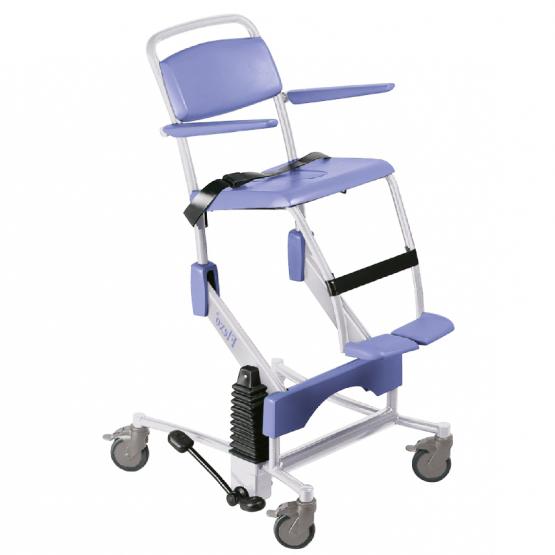 Flexo - Fauteuil de douche à siège percé à petite roues...