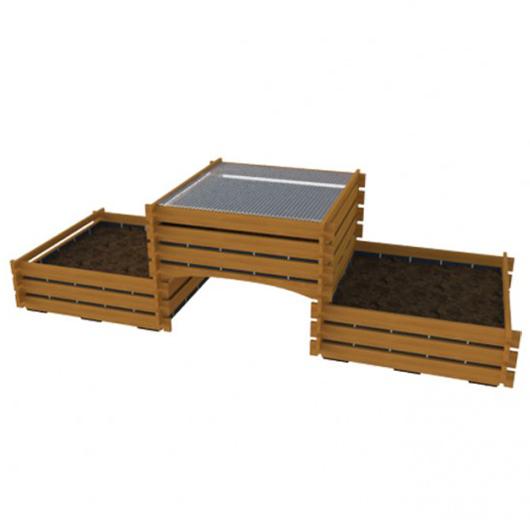 Biocarré 3 modules - Outil de jardinage...