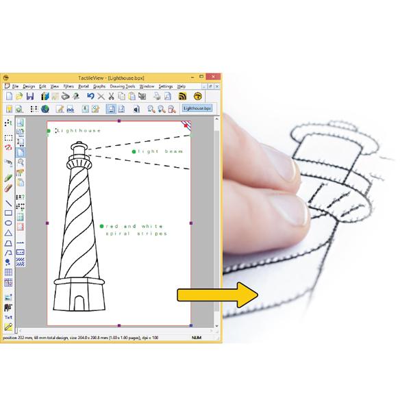 TactileView - Logiciel de dessin...