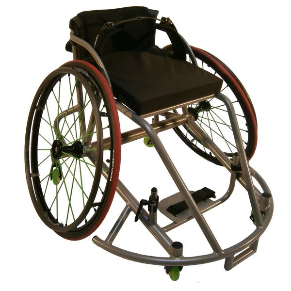 Ryder élite club pivot basket - Fauteuil roulant manuel ...