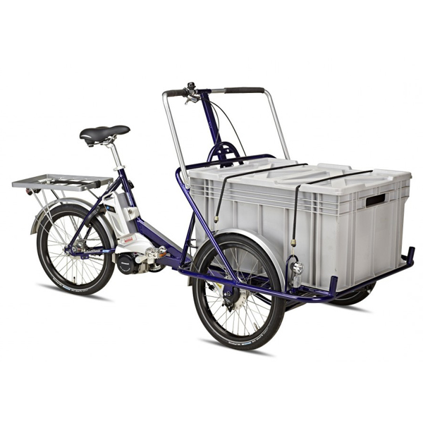 Cargo eTrike - Tricycle à deux roues avant...