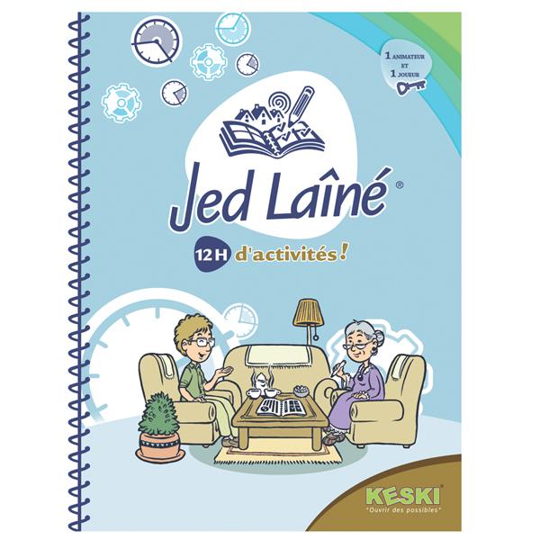 Cahier d'activités Jed Laîné - Jeu de rééducation...