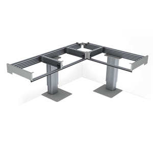 Baselift corner 6213 - Meuble de cuisine à hauteur varia...