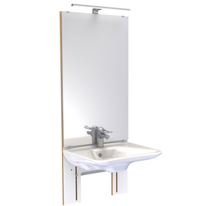 Basicline 401 - Lavabo à hauteur variable...