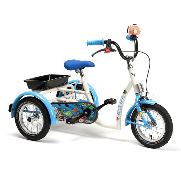 2202 Aqua - Tricycle à deux roues arrière propulse par l...