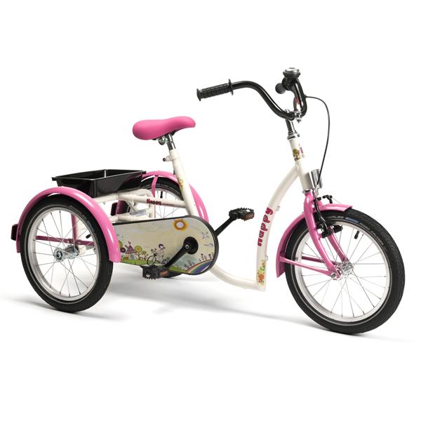 2215 Happy - Tricycle à deux roues arrière propulse par ...