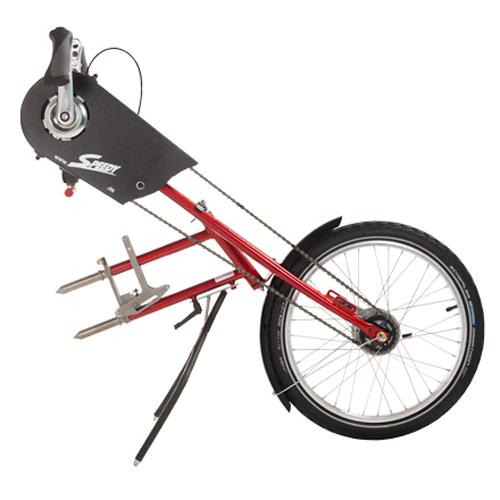 Bike - Troisième roue pour fauteuil roulant...