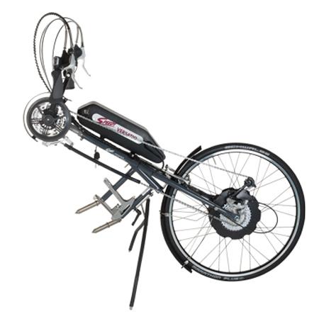 Versatio - Troisième roue électrique pour fauteuil roula...