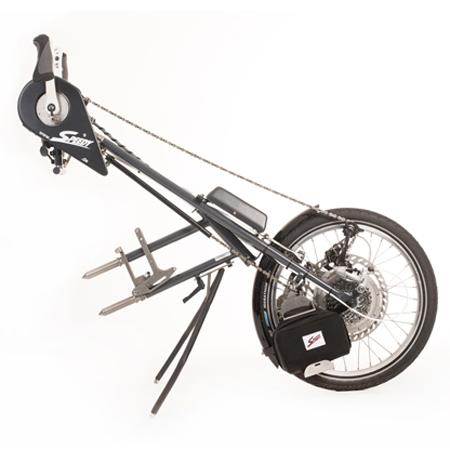 Duo 2 - Troisième roue électrique pour fauteuil roulant...