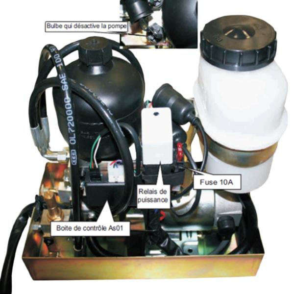 Assistance de freinage hydraulique - Pédale adaptée...