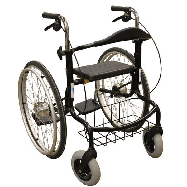 Wheellator SEPPO - Déambulateur avec assise...
