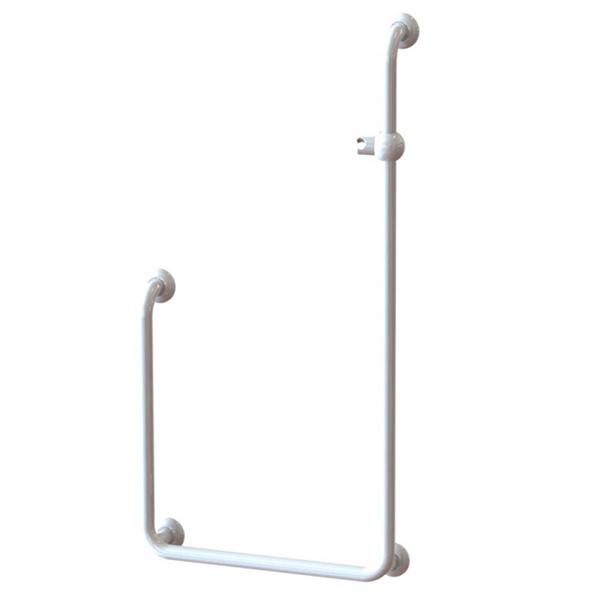 Barre de douche en U 046290 - Barre d'appui modulaire fi...