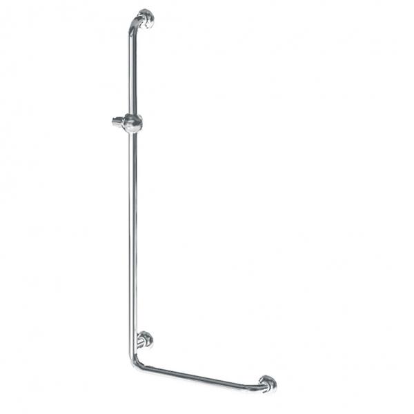 Barre de douche en L 381538 - Barre d'appui modulaire fi...