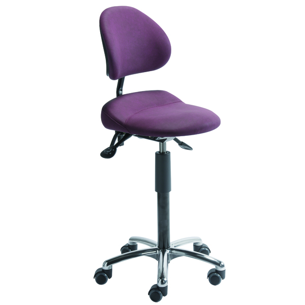 Siège assis-debout Aure - Tabouret à dossier inclinable ...