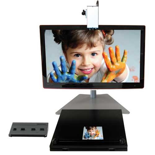 Zoomax écran 18-28 - Téléagrandisseur avec écran intégré...