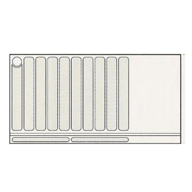 Receveur de douche installation en niche - RE 00 505 A -...