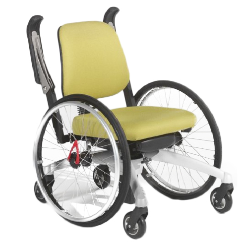 LeTriple wheels - Fauteuil roulant manuel à élévation...