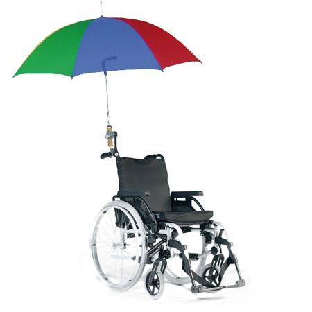 Paraplis - Porte-parapluie pour fauteuil roulant...