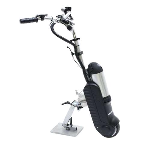 My Slave - Troisième roue électrique pour fauteuil roula...