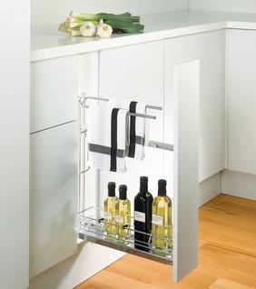 Système coulissant bas de 150 mm - Meuble de cuisine...