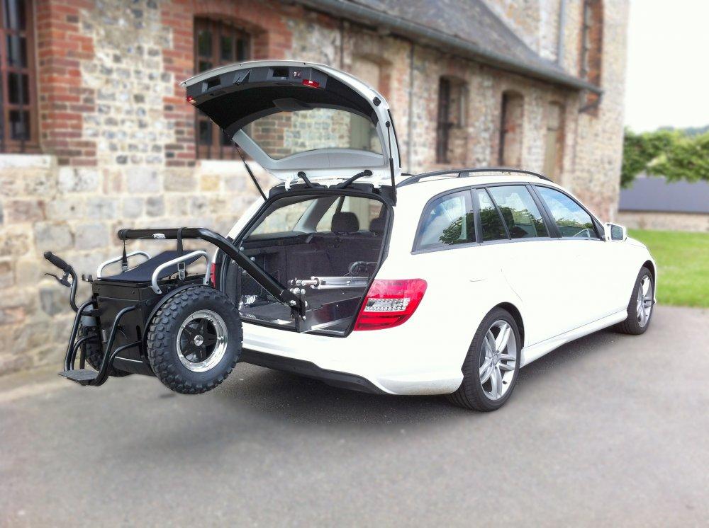 Bras télescopique - Bras élévateur de fauteuil roulant p...