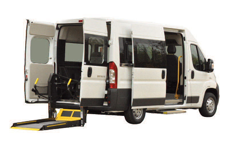 FIAT DUCATO COMBI CONVERTIBLE STHANDY - Véhicule neuf am...