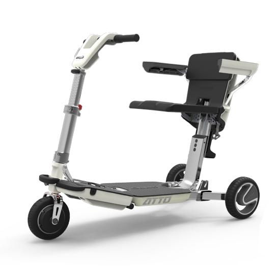Scooter électrique Atto - Scooter à trois roues...