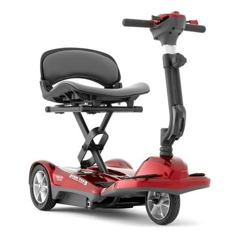 Scooter pliant automatique - Scooter à trois roues...