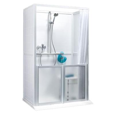 Cabine de douche à l'italienne - Cabine de douche...