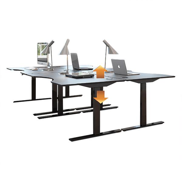 Ergoclic - Table de travail à hauteur réglable...
