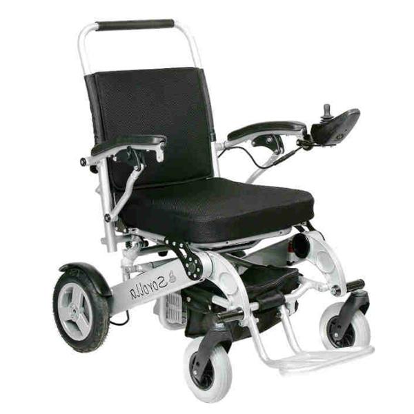 Sorolla - Fauteuil roulant électrique à châssis pliant o...