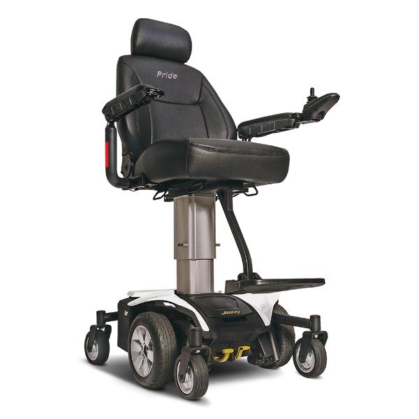 Jazzy air - Fauteuil roulant électrique à châssis fixe...