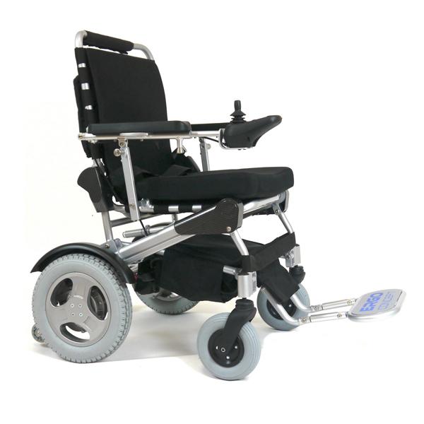 Ergo 09L - Fauteuil roulant électrique à châssis pliant ...