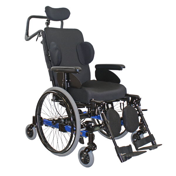 Neox 6 roues - Fauteuil roulant manuel standard a châssi...