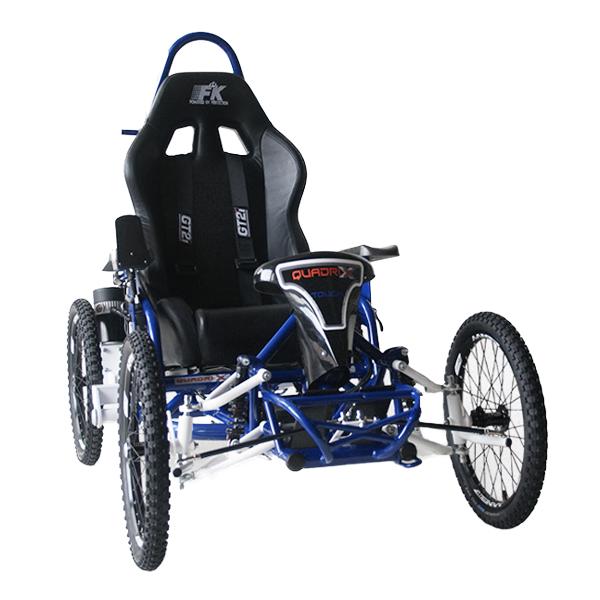 Quadrix Axess Touch - Fauteuil roulant électrique sport ...
