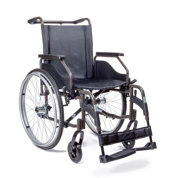 Novo - Fauteuil roulant manuel standard à châssis pliant...