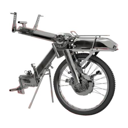 Tiro - Troisième roue pour fauteuil roulant...
