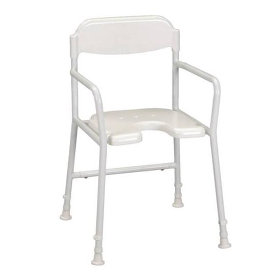 Chaise de douche avec découpe Days - Chaise de douche...