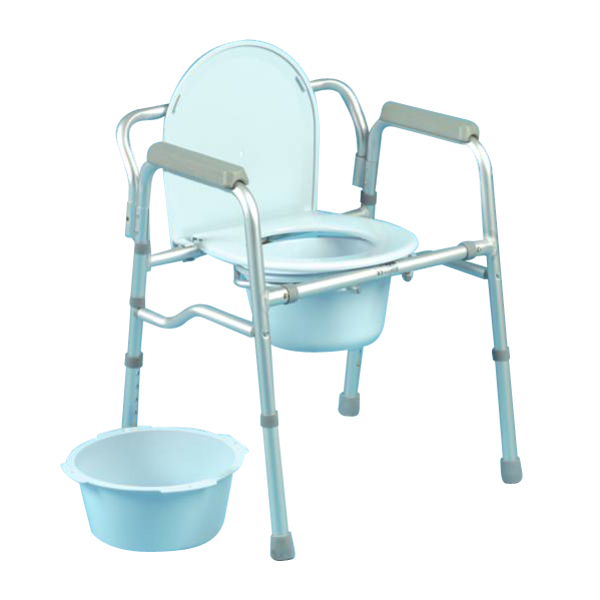 Chaise percée pliable Days - Chaise percée...