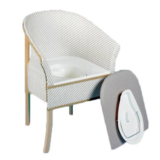 Chaise percée en bois Derby Homecraft - Chaise percée...